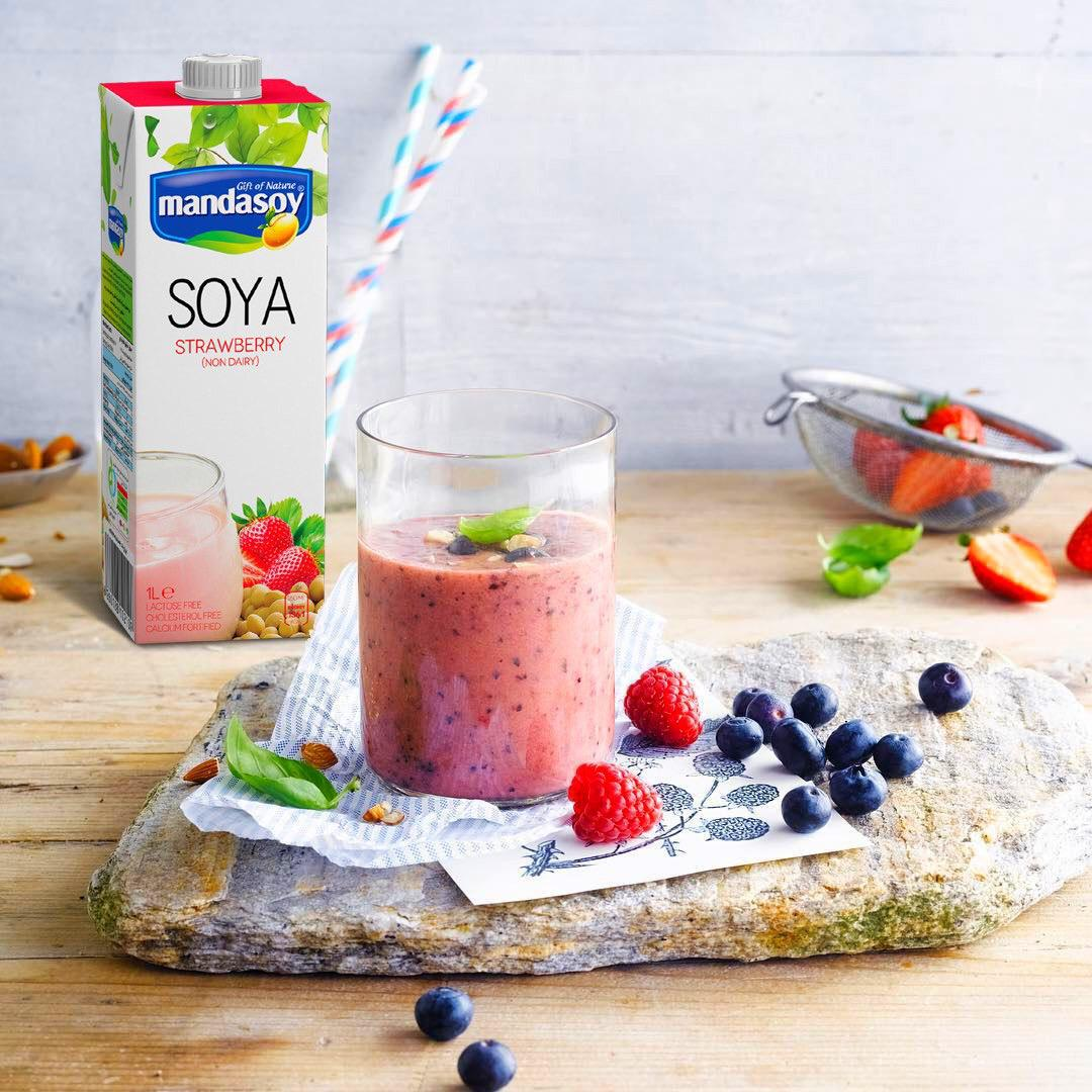 شیر سویا مانداسوی (پک ۱۰ عددی)